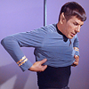 janice_lester: Spock gets dressed (Spock gets dressed)