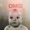 pensnest: po faced baby, caption OMG (OMG baby)