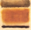 the_water_clock: abstract painting (Untitled 1958 Coffee and Cinnamon)