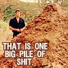 mustgofaster: Ian Malcom staring at one big pile of shit (Default)