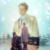lilyleia78: Cas with Dean and Cas in Stull Cemetary inset (Supernatural: Dean/Cas finale)