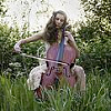 kiwiana: (Music: playing cello in the grass)
