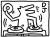 cyrano: (Haring DJ)