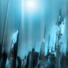 auburn: atlantis spires rising through blue water (Underwater)