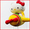 ambersweet: Hello Kitty airplane balloon from the Macy's Thanksgiving Day Parade (Kitty plane)