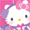 ambersweet: Hello Kitty all wrapped up in knitwear (Winter Kitty)