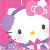 ambersweet: Hello Kitty all wrapped up in knitwear (Winter Kitty)