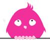 theoaktree: pink bird (Default)