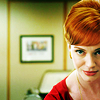 "tisifone: Joan Harris, ""Mad Men"" (The ultimate ging.)"