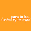 nicole4: text ; care to be touched by an angel? (care to be touched by an angel?)