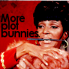 janice_lester: Uhura deals with avalanche of plot bunnies! (Uhura more plot bunnies!, More plot bunnies!)