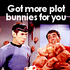 janice_lester: Scotty: got more plot bunnies for you (Got more plot bunnies for you)