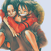hwc: Ace and Luffy from One Piece (One Piece - Luffy and Ace)