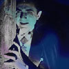 gypsyrifle: A production shot of Béla Lugosi as Count Dracula, set in blue (Béla in blue)