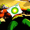 cloud_wolf: aquaman unconscious and covered in oil (aquaman)