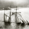 frith_in_thorns: A sailing boat, mostly sunk (.Failboat)