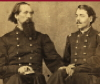 the_shoshanna: two Civil War (Union) officers, one with a hand on the other's knee (soldier love)