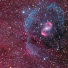 melorapazlar: purple and pink nebula (nebula)