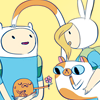 mythicgeek: art by <user name=natazilla site=tumblr.com> ([adventure time] finn fionna jake cake)