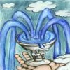 00: cup, overflowing (cups)