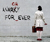 """the_shoshanna: """"Anarchy Forever"""" graffiti, with spelling corrected (anarchy)"""