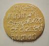 "littlemousling: Cookie reading ""Meets minimum standards of decent human"" (minimum standards)"