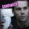 paintedmaypole: (stiles has sandwiches)