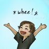 clex_monkie89: Chibi Sam Winchester making yay arms with glee (MOG YAY! - Sam)
