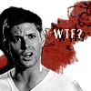 clex_monkie89: Dean Winchester and his amazing What The FUCK face (WTF? - Dean)