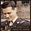 whoisus: Benton fraser looking down and smiling, he is very beautiful (dS - Pretty) (Default)
