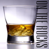 darkemeralds: Photo of a glass of whisky on ice with caption On The Rocks (on the rocks, Whisky)