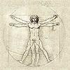 arduinna: Leonardo da Vinci's Vitruvian Man (da Vinci - Vitruvian Man)