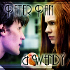 "kerravonsen: 11th Doctor and Amy Pond; ""Peter Pan and Wendy"" (peter-pan-and-wendy)"