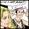 lorata: (Margo - Hat Man)