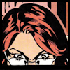 kareila: woman with red hair and glasses looking into a computer screen (oracle)