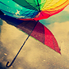 astro_noms: (rainbow umbrella)