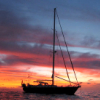 beth_shulman: (stock: boat in sunset)