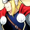 terabient: Thor smiles (Marvel: Thor smile)