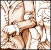 knightoftheswan: (her escort)