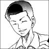 annotated_em: Fuji Yuuta (Prince of Tennis manga) grinning. (grin)