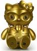 firecat: hello kitty wearing a c-3po costume (c-3po kitty)