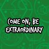 misslucyjane: (be extraordinary)