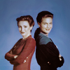 walkthegale: (st:ds9 - kira & dax back to back)