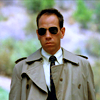 st_aurafina: Albert Rosenfield from Twin Peaks, in his trenchcoat, looking awesome  (Twin Peaks: Albert)