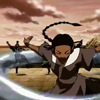 eruthros: Kataraa from Avatar: TLA fighting with water (Avatar - katara fighting)