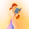 carolinarose: Belle 'with her nose stuck in a book' (beauty's books)