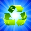 jack: Glowing recycle symbol (getting things done)