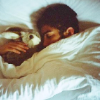 passkey: Someone sleeping with a bunny. (Default)