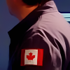 istia: focus on canadian flag on rodney mckay's uniform (sga | rodney flag)