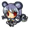 kendermouse: Gray haired mousegirl, (mousegirl, mousie)